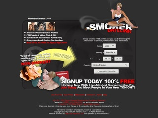 Smoker Datelink Homepage Image